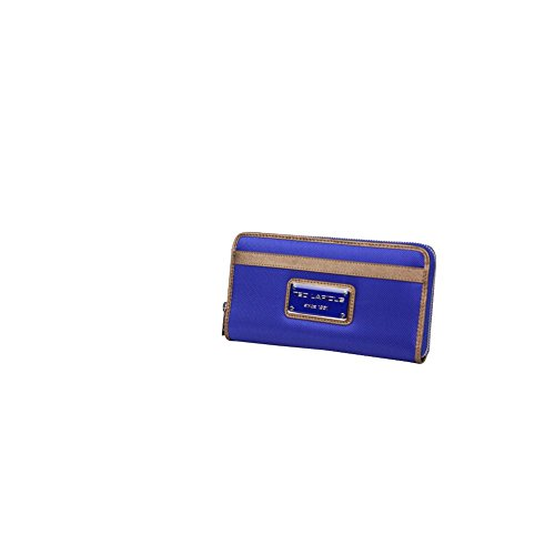 Grand porte monnaie toile Tonic Ted Lapidus TL NY42009 - Bleu