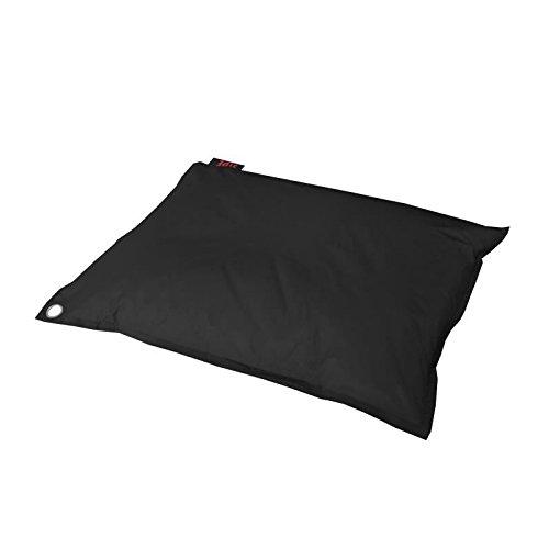 Maxi Coussin Polyester Noir 110 x 130 x 25 cm