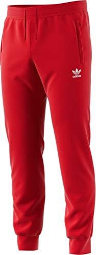 new product b7996 58eb1 adidas Trefoil Pant, Pantaloni Tuta Uomo, Power Rosso, S