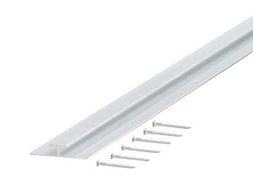 Mill Finish Aluminium (m-d Building Products zeigen möglicherweise cm Dekorative Aluminium Trennwand für 9.525mm stark,-Mill Finish)