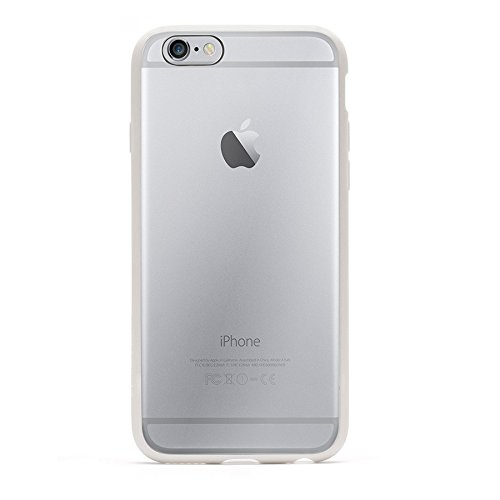Griffin Reveal Coque pour iPhone 6/6s Blanc/Transparent Blanc/Transparent