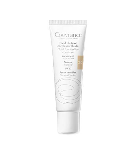 Avene Couvrance Maquillaje Fluido Natural 30 ml.