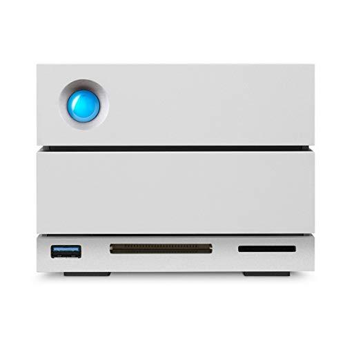 LaCie 2big Dock Thunderbolt 3, 20 TB, externe Festplatte, 3.5 Zoll, Thunderbolt 3, USB-C + Card Reader, Mac, PC