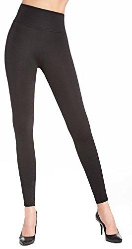 formende leggings elegante Shape-Leggings * formend modellierend schlankmachend * Gr. S M L XL XXL Schlankmacher Leggins Damenhose (Livia Gr. L)