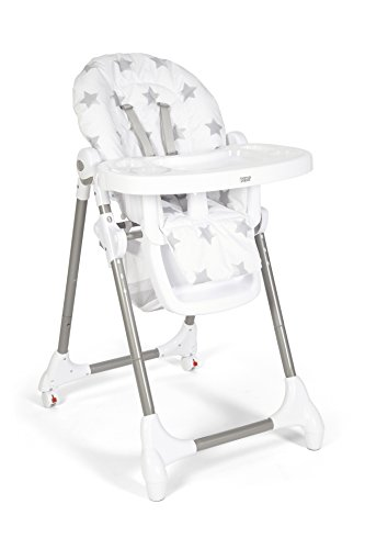 Mamas & Papas Snax Highchair (Grey Stars) 314Gd0THV 2BL
