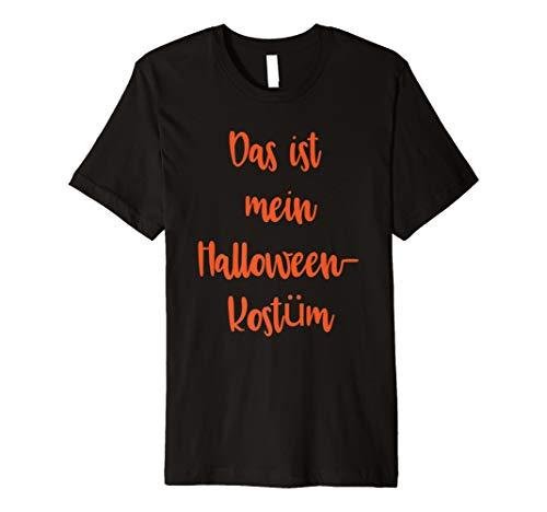 (Lustiges schnelles einfaches kein Kostüm-Halloween-Hemd)