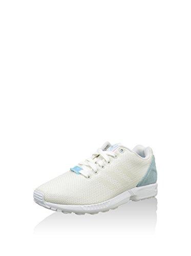 Adidas - Zx Flux Weave, Sneakers da donna Owhite/Owhite/Blublu
