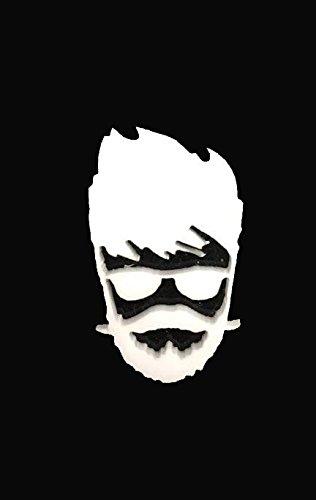 The Logo Man Superstar 3D Emblem Decal Mobile Phone Sticker Logo