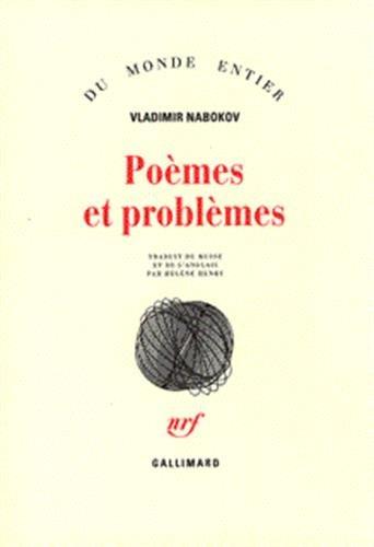 Poèmes et problèmes par Vladimir Vladimirovich Nabokov