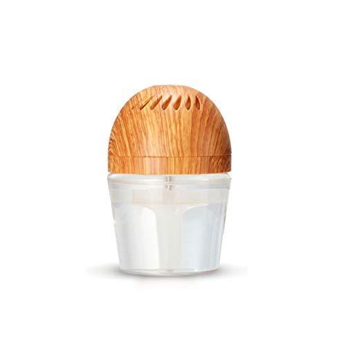 Ngls Leise neben Formaldehyd-Car Air Lufterfrischer, Aromatherapie-Diffusor, Entstauber gegen Stauballergien, Pollen Haustiere Rauch Allergene Reiniger,darkyellow
