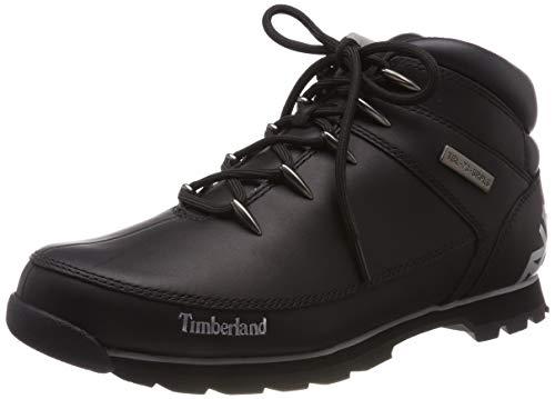 Timberland Euro Sprint Hiker Waterproof, Stivali Chukka Uomo, Nero (Black Reflective 001), 40 EU