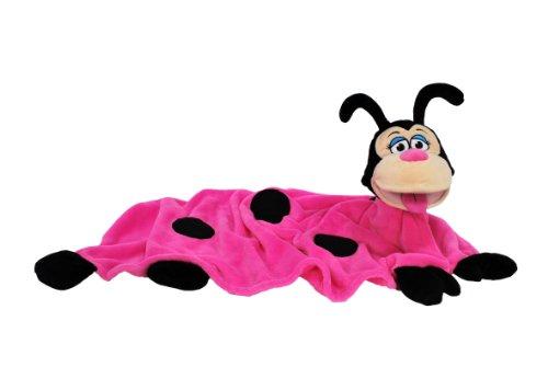 Snuggle Pets Cuddleuppets Ladybird (Hot Pink)