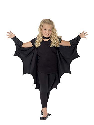 Batman & Maske Cape Kind Kostüm - Smiffy's 44414 - Vampire Bat Flügel