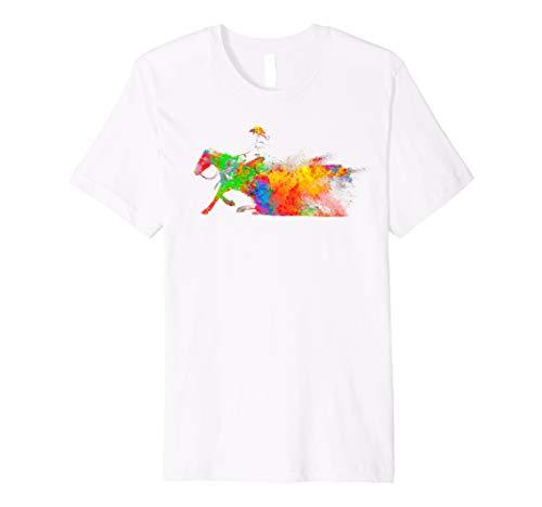 Reiter T-shirt Pferde Reiten shirt