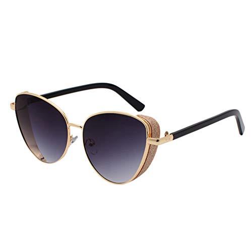 Storerine 3445 Sonnenbrillen glitzern dekorative Bordüre Sonnenbrille Metall Seite Vollformat Brille Polarisierte sonnenbrille für frauen mann verspiegelte linse mode brille