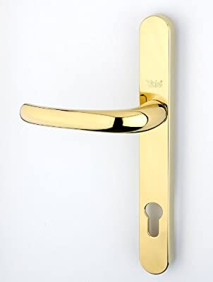 Yale Long Backplate Replacement Door Handle 92mm Centres 215mm Fixing Holes - cheap UK light store.