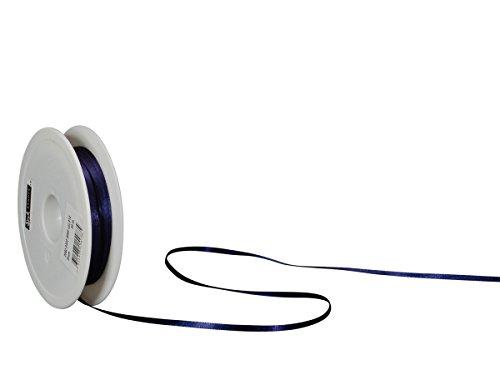 Spyk Bänder Klebeband doppelseitig für Geschenk 3 mm, 50 m dunkelblau