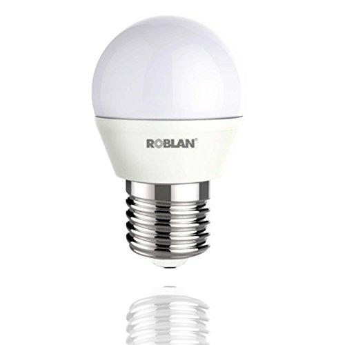 roblan leda1505e27b Ampoule E27, 5 W, Blanc