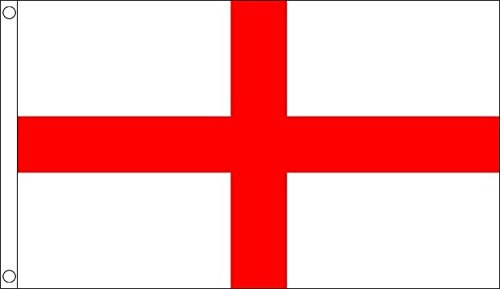 BZB Drapeau de St George (Angleterre) en Nylon