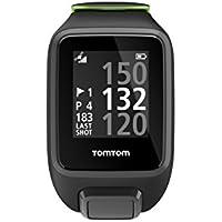 TomTom Golfer 2 SE GPS-Golfuhr, 40,000 vorinstallierten Plätze weltweit, Automatische Schlagerkennung und ScorekarteAnsicht des Grüns und Distanzen zum Grün, schwarz/grün