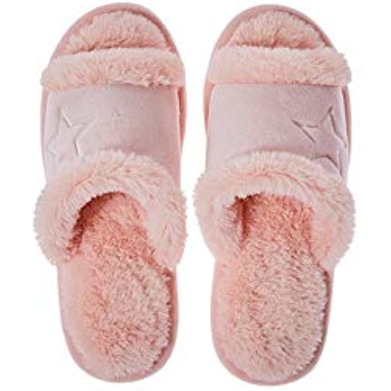 IyACE Chaussures Femme Confort Hiver,Automne et en Hiver Coton... Nouveau Couple Pantoufles Maison Pantoufles en Coton... Hiver - B07K2SF33N - 7bea80