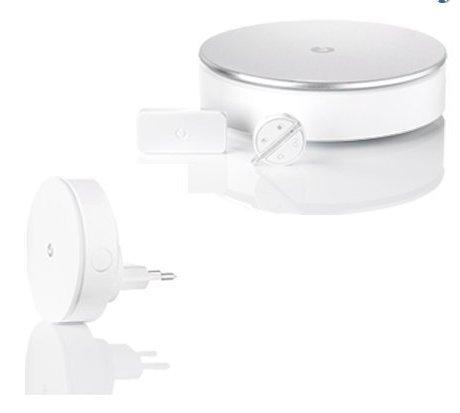 Myfox Home Alarm System-Sicherheit für die Haus, WLAN, kompatibel mit iPhone und Android, Weiß