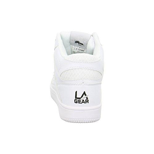 L.A. Gear Damen Hi Sneaker Weiß