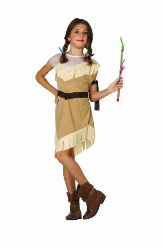 RG Costumes Native American Girl Costume, Brown, Large by RG ()