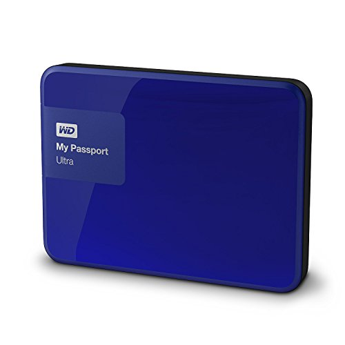 WD My Passport Ultra 2TB Portable External Hard drive (Blue)