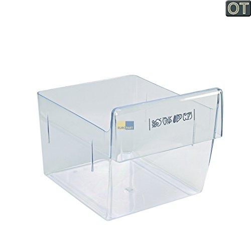 ORIGINAL Electrolux AEG 224707420 2247074202 235x225x295mm Gemüseschale Schublade Gemüsefach Kühlfach Kühlschublade Kühlschrankschublade Gemüseschublade Behälter Schale Fach Box Korb Kühlschrank