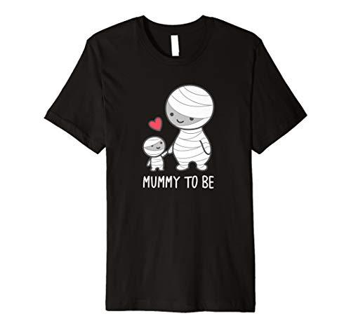 (Mummy to be T-Shirt–Cute Funny Halloween Schwangerschafts)