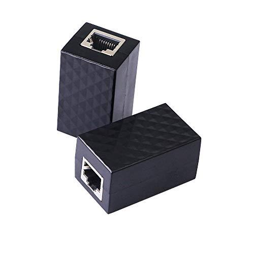 CERRIXIAN RJ45 pararrayos para Tarjetas de Red, Terminaciones, concentradores, MAU y Otros Dispositivos Ethernet (2pack)