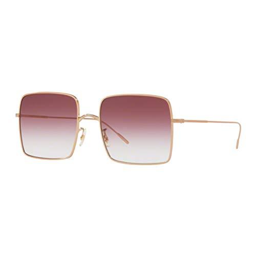 Oliver Peoples Sonnenbrillen RASSINE OV 1236S ROSE GOLD/MERLOT SHADED Damenbrillen