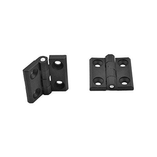 Ajile - 2 unidades - Bisagra de plasticò para puerta 25x25x3 mm...