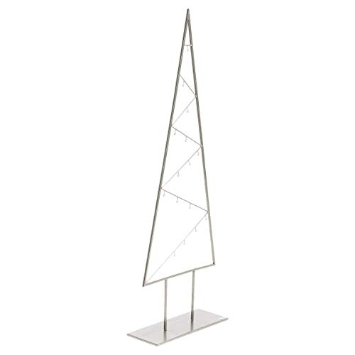Pureday Weihnachtsdeko - Dekoobjekt Zickzack-Baum - Weihnachtsbaum - Modern - Metall - Höhe ca. 150 cm