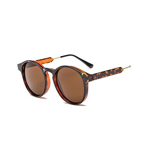 Sportbrillen, Angeln Golfbrille,Retro Round Sunglasses Men Women Unisex Vintage Design Small Sun Glasses Driving Shades Male Female Glasses as picture Orange