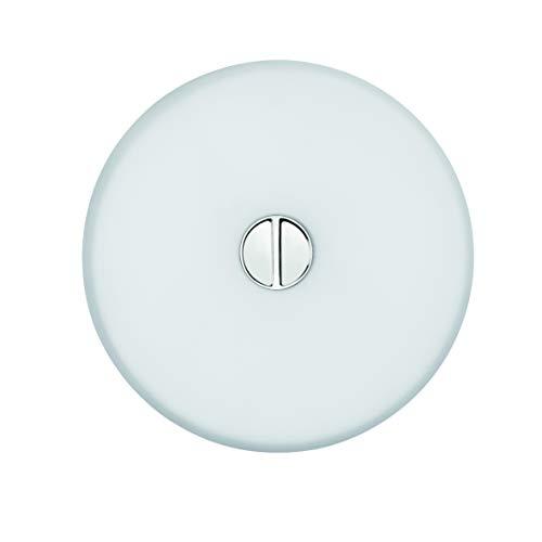 premium selection 80655 eb8a4 Flos Mini Button EU Diff Plastic Opal Opal, Glass, Transparent, 14 x