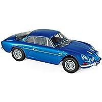 Coche Renault Alpine A110 1600S 1971 Azul. Escala 1/