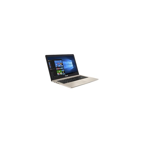 "Asus VivoBook Pro N15 N580VN-DM116T Notebook, Display da 15.6"", Processore i7-7700HQ, 2.8 GHz, HDD da 1000 GB, 8 GB di RAM, nVidia GeForce MX 150, Oro/Metallo [Layout Italiano]"