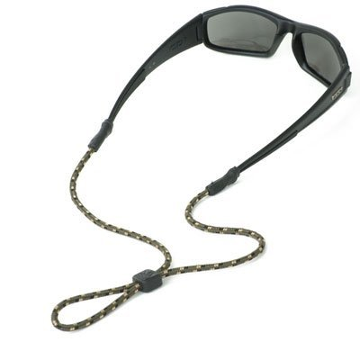 Chums Hundespielzeug 5 mm Universal-Fit Rope Eyewear Retainer, Herren, 12102320, Olive/Gold/Black