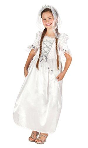 Kinderkostüm 82205 - Braut, mehrfarbig