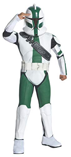 Star Wars Kinder Kostüm Clone Trooper Gree - 140 cm (Clone Trooper Kostüme Für Kinder)