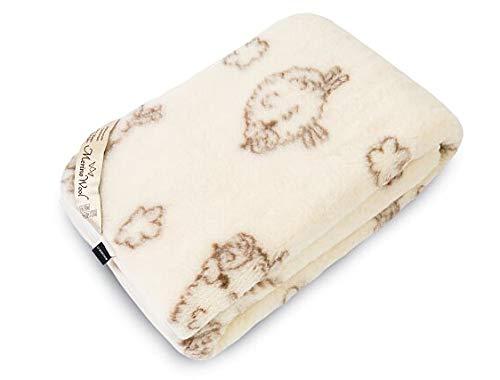 Decke Merino Wolle Decke Neugeborene Baby Decke 140x 100cm Decke des Kindes, WOOLMARKED. Kinder Decke. Baby Blanket. Baby Decke Naturprodukt -
