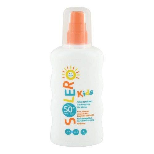 SOLERO Ultra sensitives Sonnenspray Kinder LSF 50+ 200 ml Spray