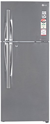 LG 260 L 4 Star Frost-Free Double Door Refrigerator (GL-I292RPZL, Shiny Steel, Inverter Compressor)