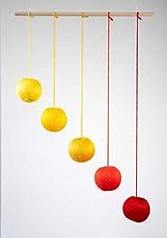 Montessori inspired mobile - Orange Gobbi