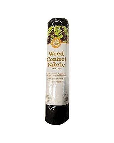 8m x 1.5m Mètre Garden Tissu de contrôle des mauvaises herbes Membrane Sol Coque Paysage paillis.