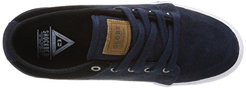 Globe Gs, Chaussures de skateboard homme Bleu (13068 Navy/Suede)