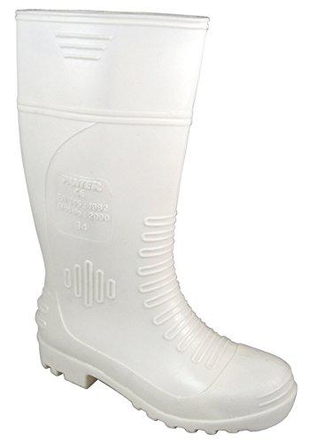 Panter 330011616–Punt. Hohe Stiefel weiß Antigr. EG-2090–Größe: 39 weiß