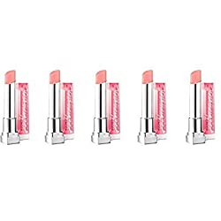 (Pack of 5) - Maybelline New York Color Whisper by ColorSensational Lipcolor, 55 One Size...